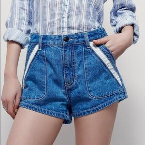 NWT FREE PEOPLE 'Sweet Surrender Short' Size 25